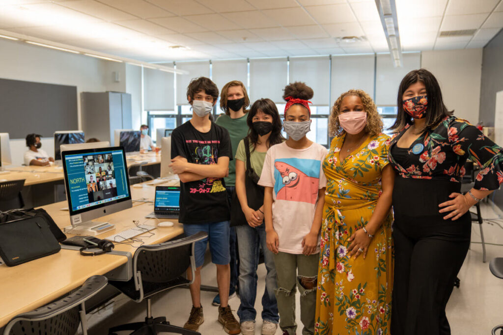 Students at Art and Design High School spending summer working with mentors from HBO Max
